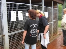 Bilder vom Besuch im Tierheim Lengerich
